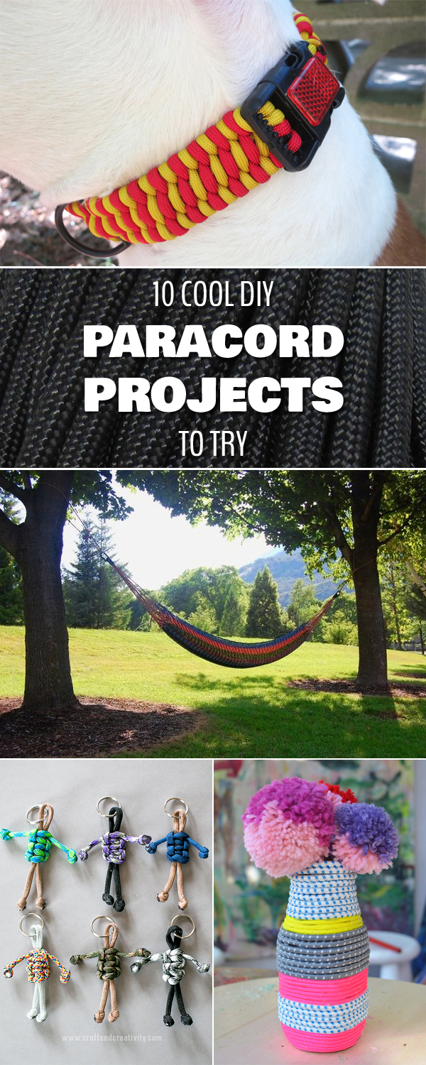 10 Cool DIY Paracord Projects To Try