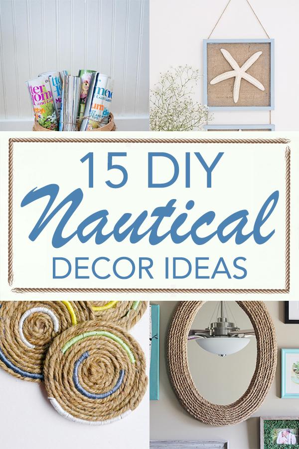 15 DIY Nautical Decor Ideas