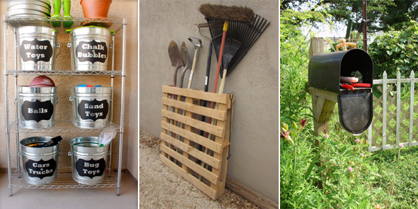 12 Brilliant DIY Backyard Storage Ideas You Need to Try