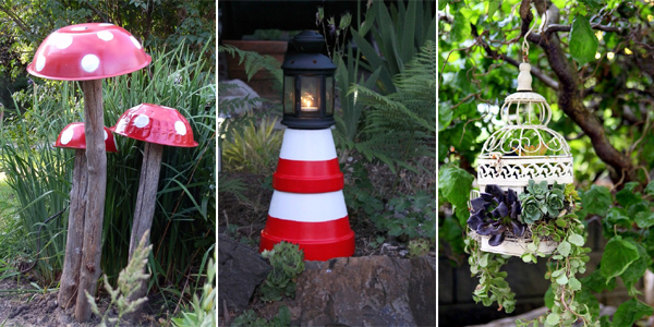 20 Cheap and Easy DIY Garden Decor Projects