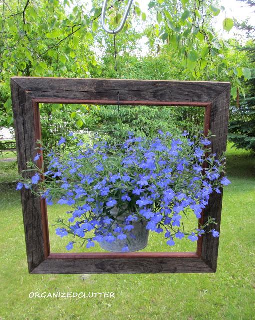 Framed Garden Pot