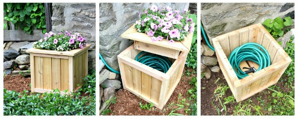 Garden Hose Storage Ideas easy water hose storage 25 Diy Project To Garden Hose Storage Ideas