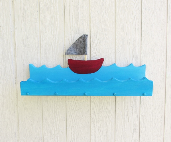 Nautical Boat Shelf