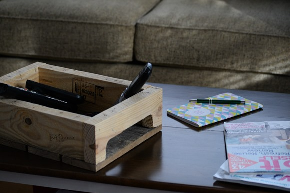Pallet Tray for the Coffee Table