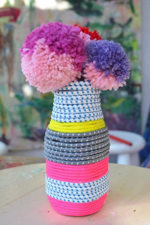 Paracord Vase