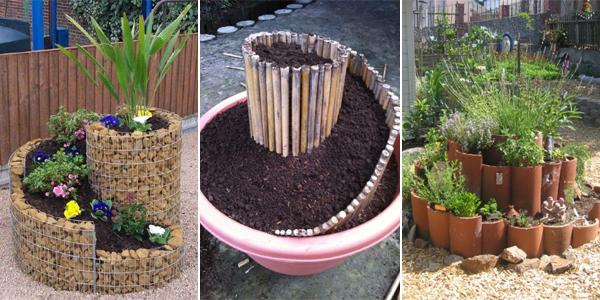 10 Spiral Garden Ideas