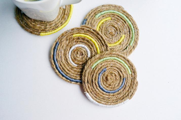 Twine Coasters