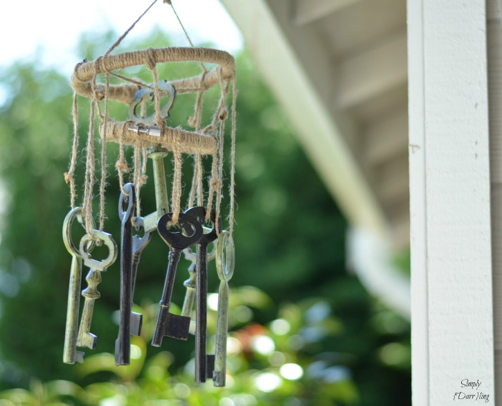 Wind Chime With Keys
