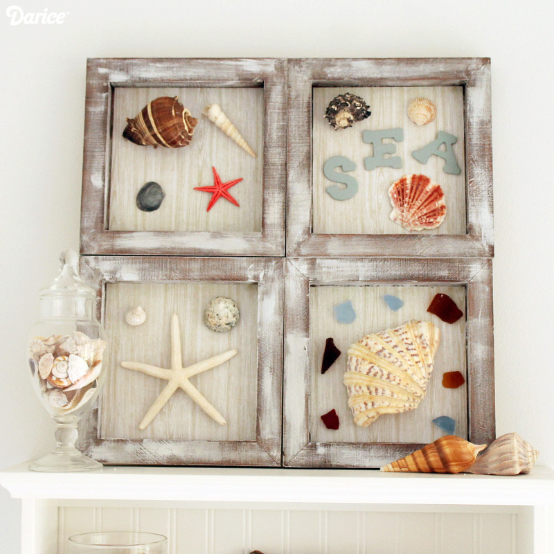 nautical shadow box