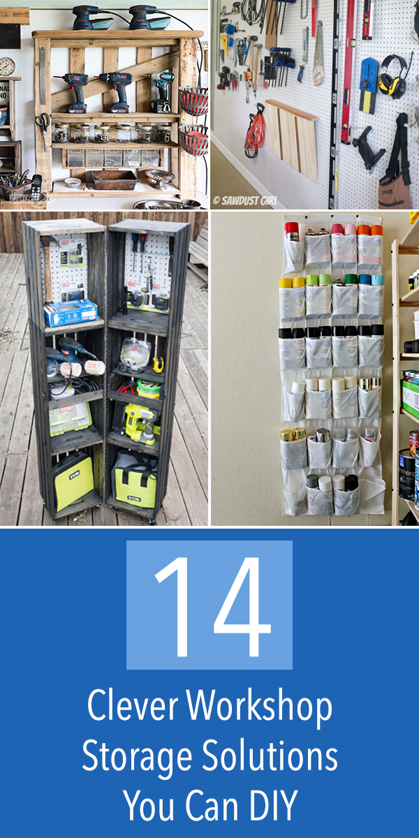 14 Clever Workshop Storage Solutions You Can DIY