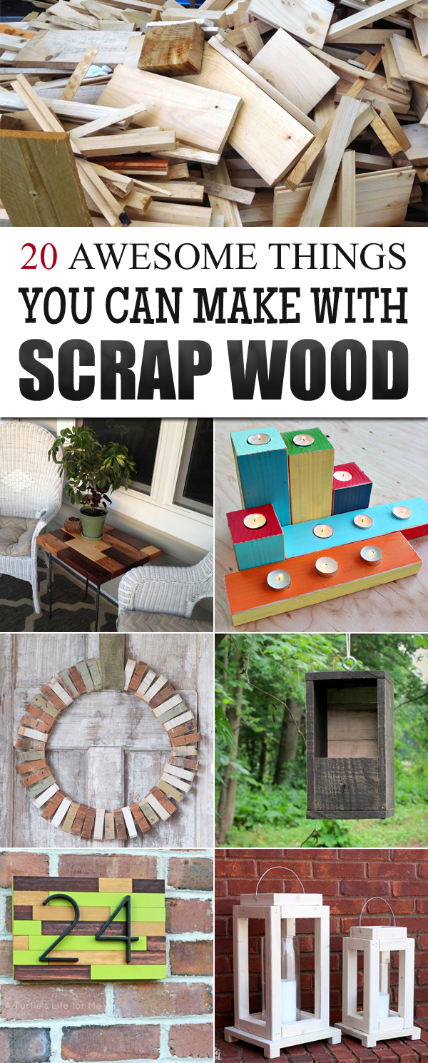 20 awesome things you can make with scrap wood for Christmas crafts you can make at home