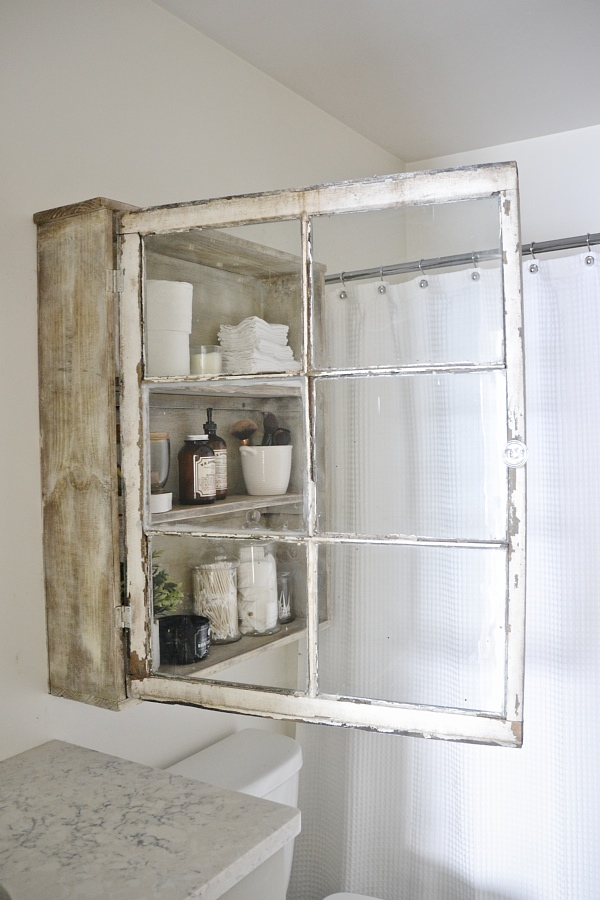 Cabinet Out of an Old Window