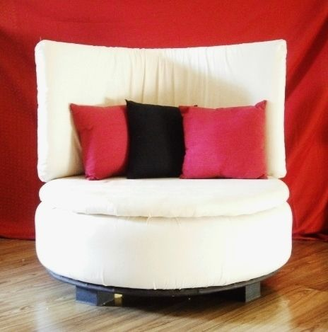 Tire To Round Sofa Chair
