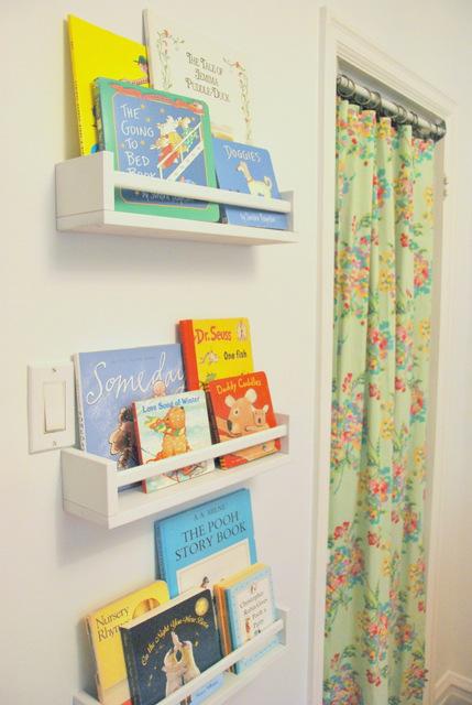 Turn Spice Racks into Bookshelves