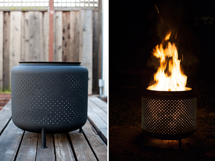 Upcycle Washing Machine Drum into Firepit