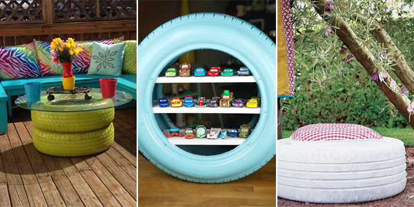 20 crazy and creative ways to repurpose old tires Things to make out of old tires