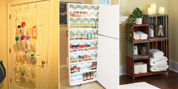 15 DIY Home Organization and Storage Ideas
