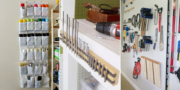 14 Brilliant DIY Workshop Storage & Organization Ideas