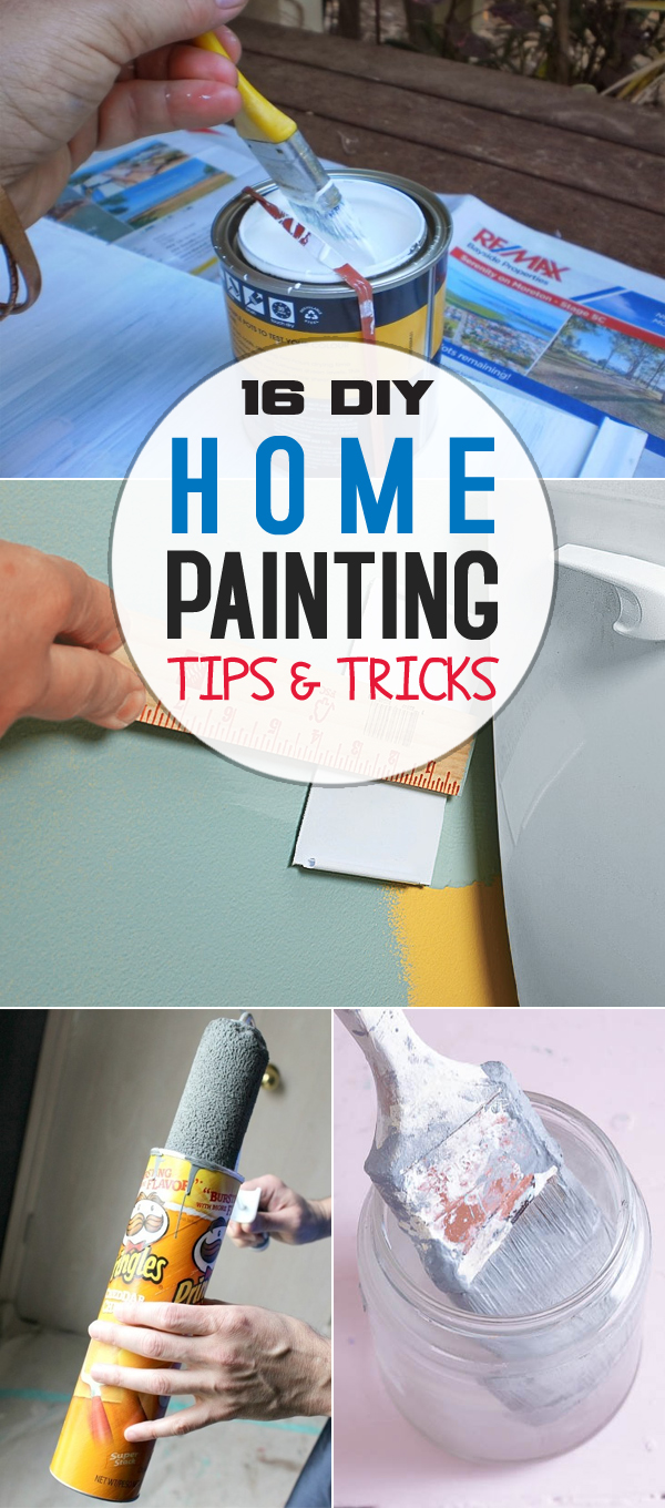 16 DIY Home Painting Tips to Make the Job Faster, Cleaner, and More Efficient