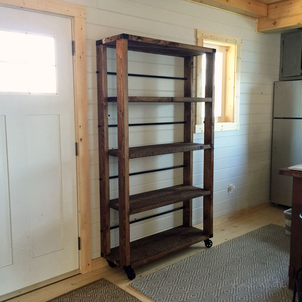 Diy 2x4 Shelving Unit: 12 DIY Rustic Furniture Projects That Are Both Unique And