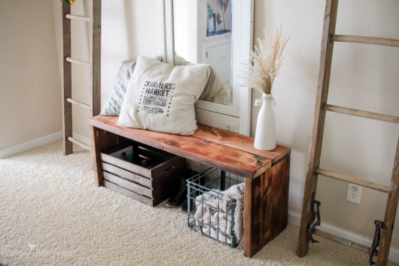 Simple Rustic Bench