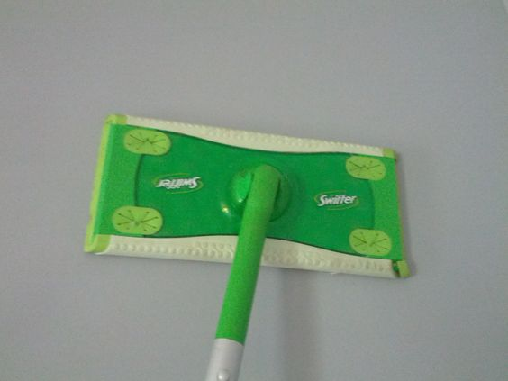 Swiffer your walls before painting to remove dirt and grime