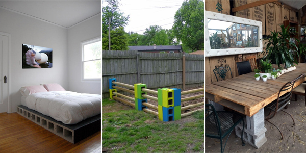 30 Awesome Things You Can Do With Cinder Blocks