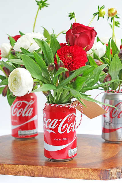 Soda Can Vases