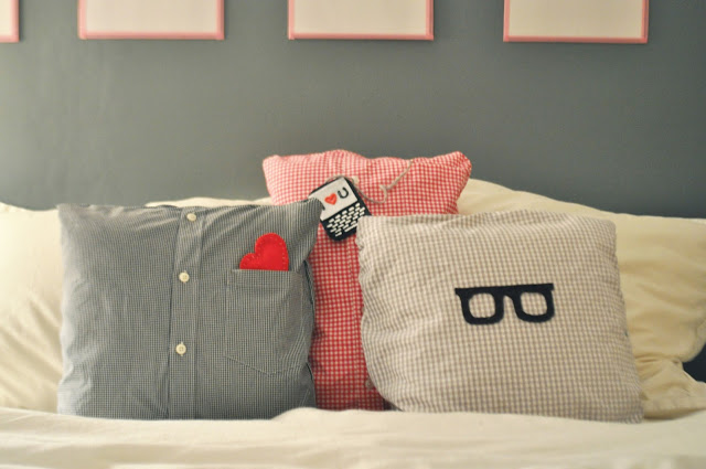 Turn an Old Shirt into a Cushion Cover