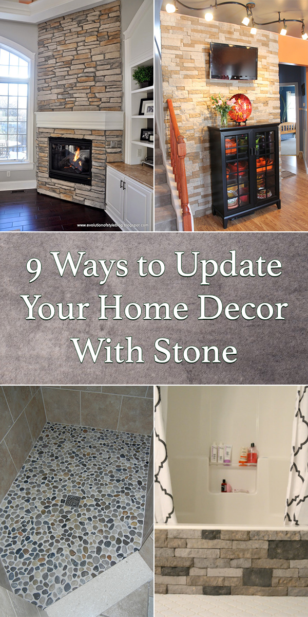 9 Ways To Update Your Home Decor With Stone