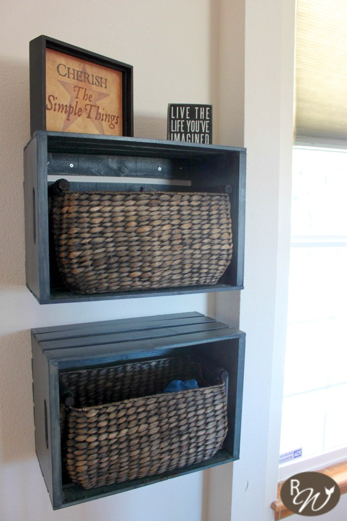 Mudroom Storage Crates