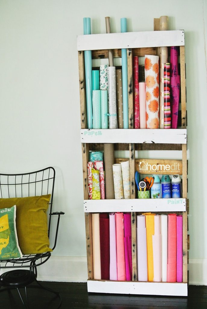 Pallet Storage Shelving