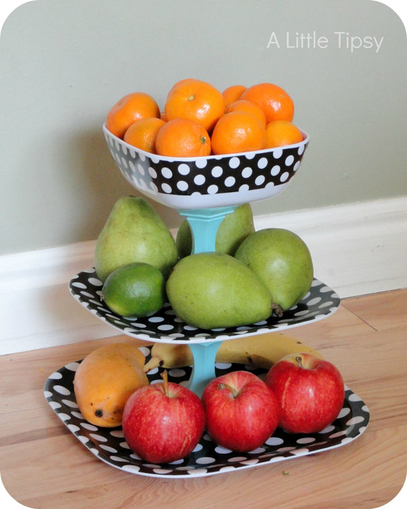 Polka Dot Fruit Stand