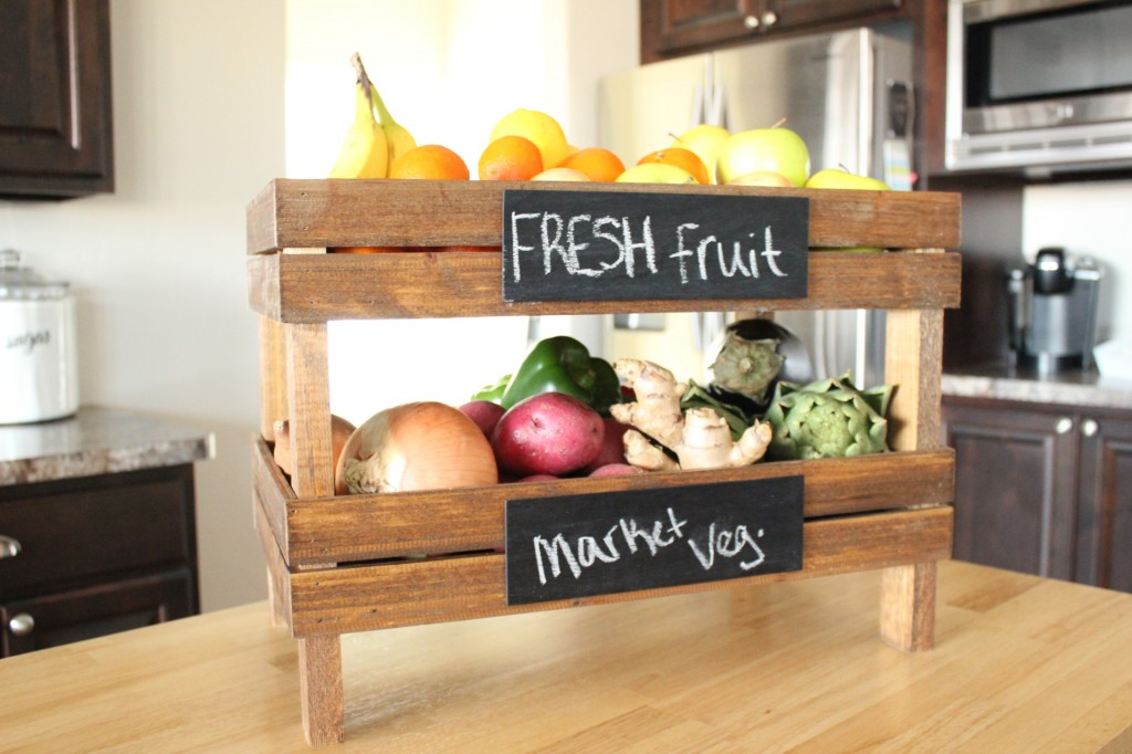 2. Stackable Fruit Crates
