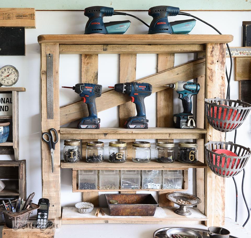 Tool Storage Shelf