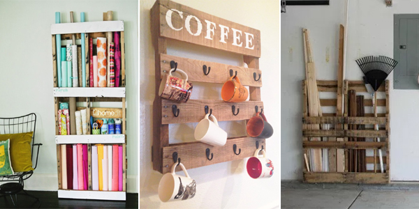 15 Creative DIY Pallet Storage Ideas