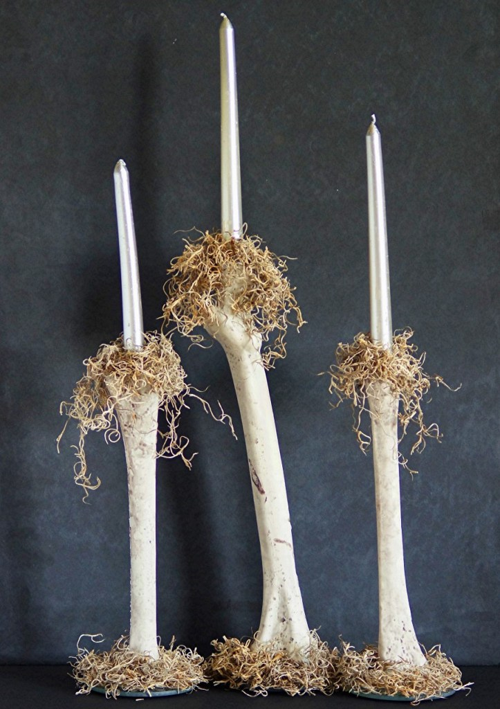 Bone Candlesticks