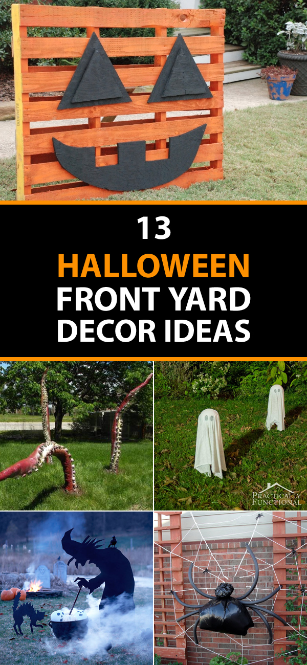 13 Halloween Front Yard Decor Ideas