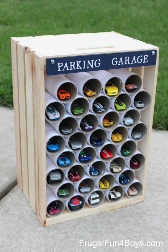 Kids' Car Collection Storage