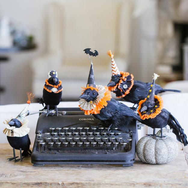 Spooky Elizabethan Crows