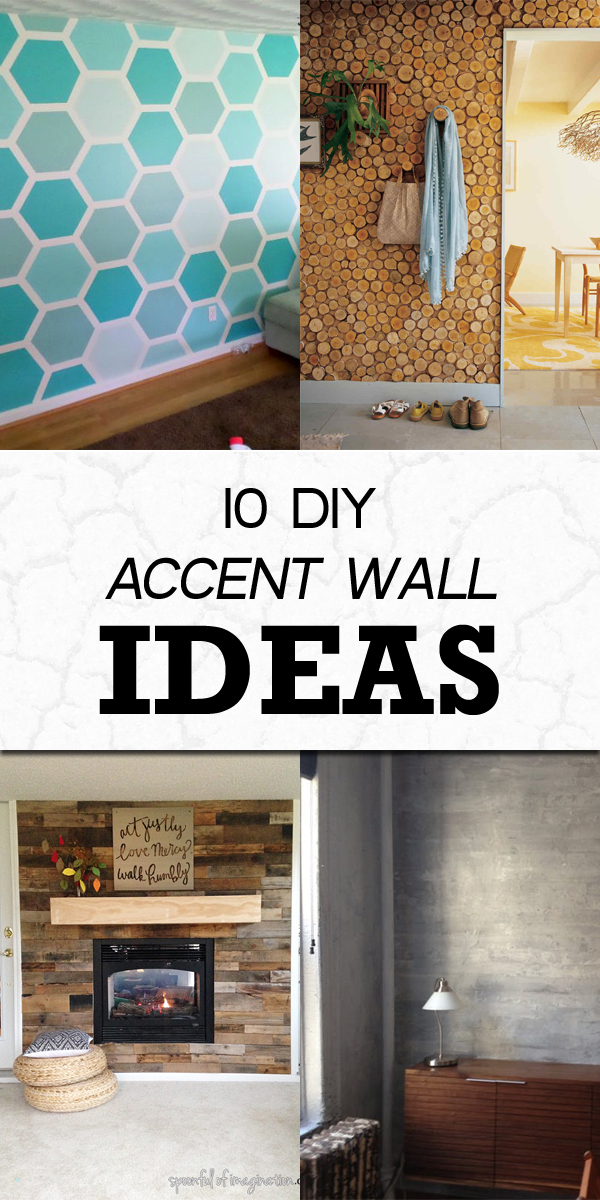 10 Easy DIY Accent Wall Ideas to Make Your Home More Interesting