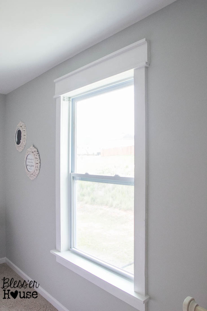 Install Beautiful Window Trim