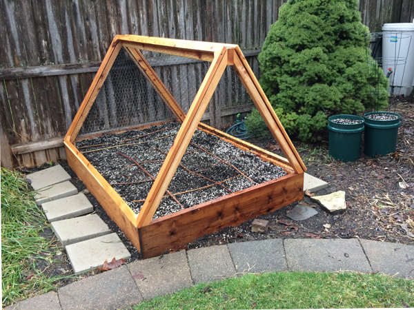 Diy Cover For Raised Bed Garden
