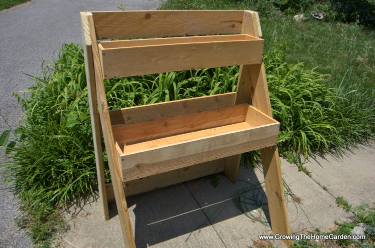 Raised Multi Leveled Garden Planter Box