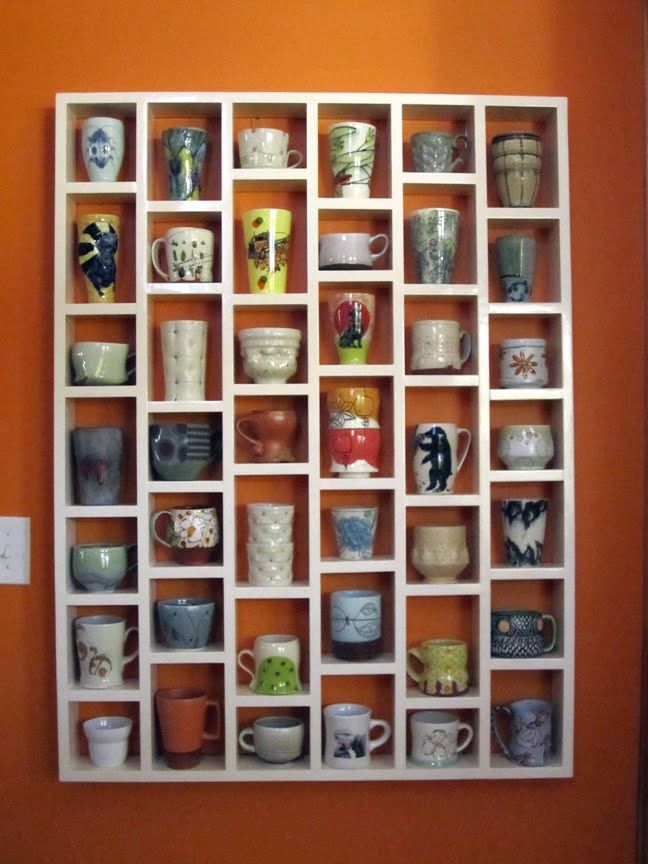 Coffee Mug Shelf  sc 1 st  For DIYers & 10 Creative DIY Coffee Mug Storage Ideas