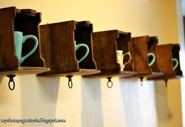 From Drawers-to-Shelves Coffee Mug Storage