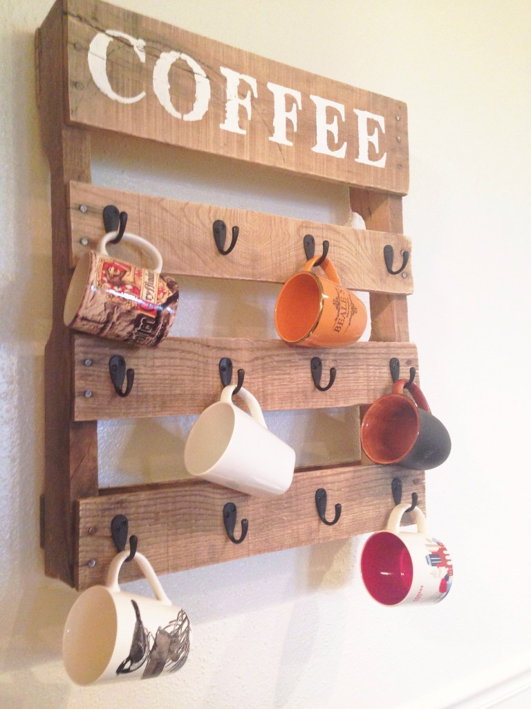 10 Creative Diy Coffee Mug Storage Ideas