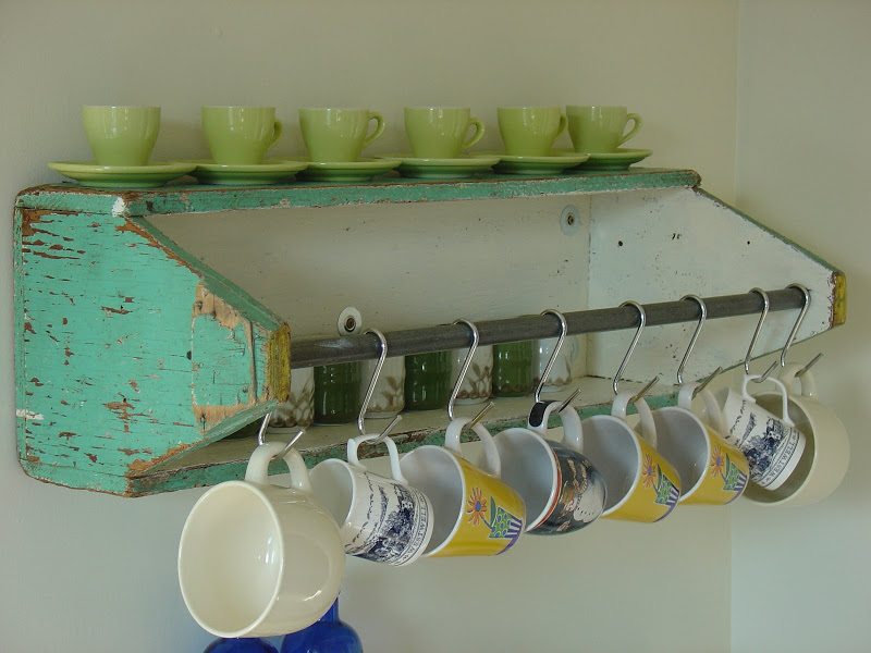 Turn an Old Tool Box Into a Cute Coffee Mug Holder