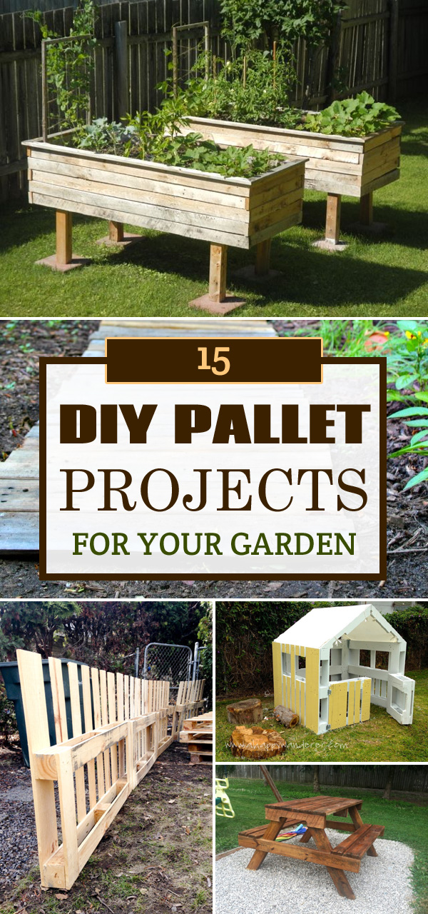 15 Great Diy Pallet Projects For Your Garden