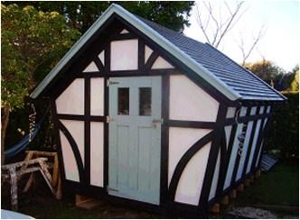 10 x 10 Tudor Style Shed